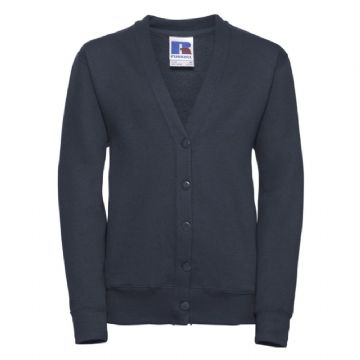 LYBSTER PRIMARY SCHOOL NAVY CARDIGAN WITH LOGO